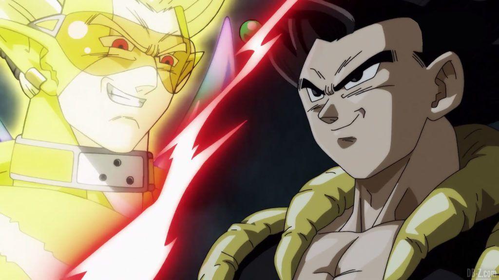 Super Dragon Ball Heroes Episode 18 Gogeta vs Hearts