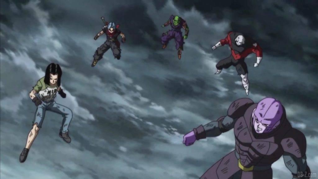 Super Dragon Ball Heroes Episode 18 Hearts vs Gogeta 1