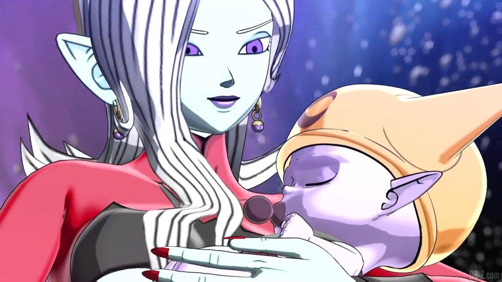 Towa et Bébé Fu Super Dragon Ball Heroes Big Bang Mission