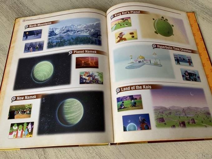 DBZ Kakarot Edition Collector Artbook du Jeu 6