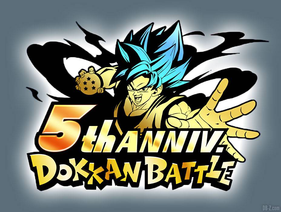 Dokkan Battle 5 ans