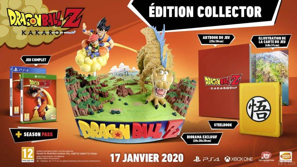 Promo pour lédition collector de Dragon Ball Z
