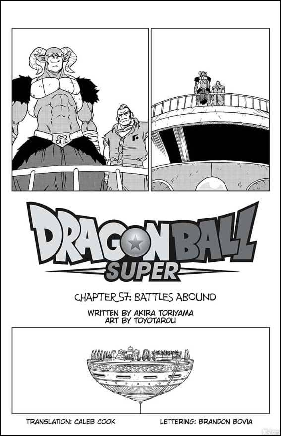 Chapitre 57 Dragon Ball Super