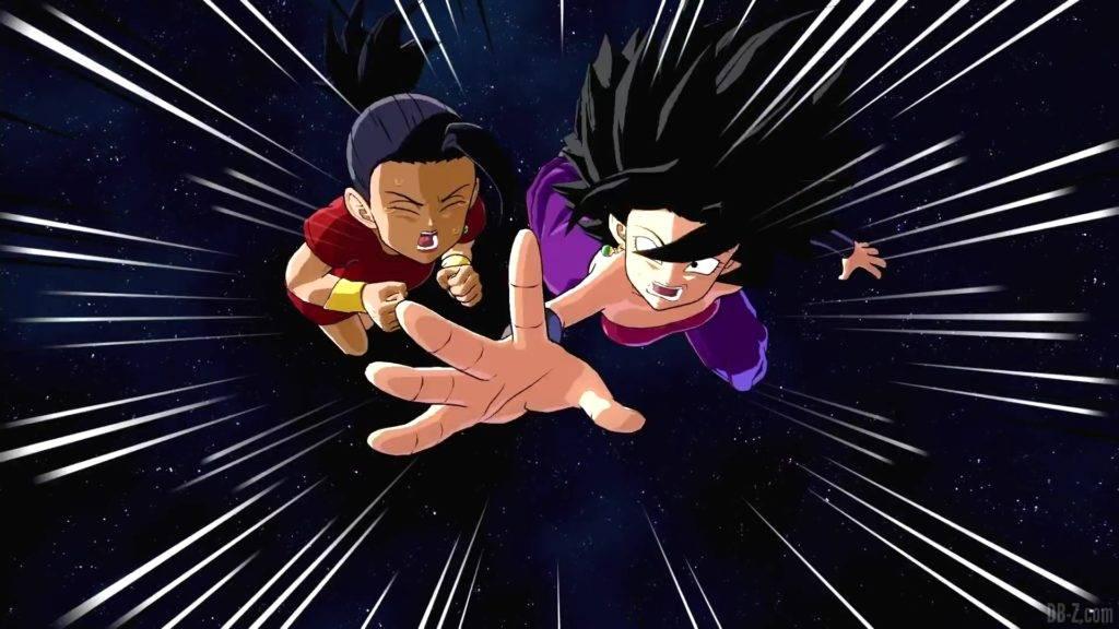Dragon Ball FighterZ Season 3 43 Kale Caulifla