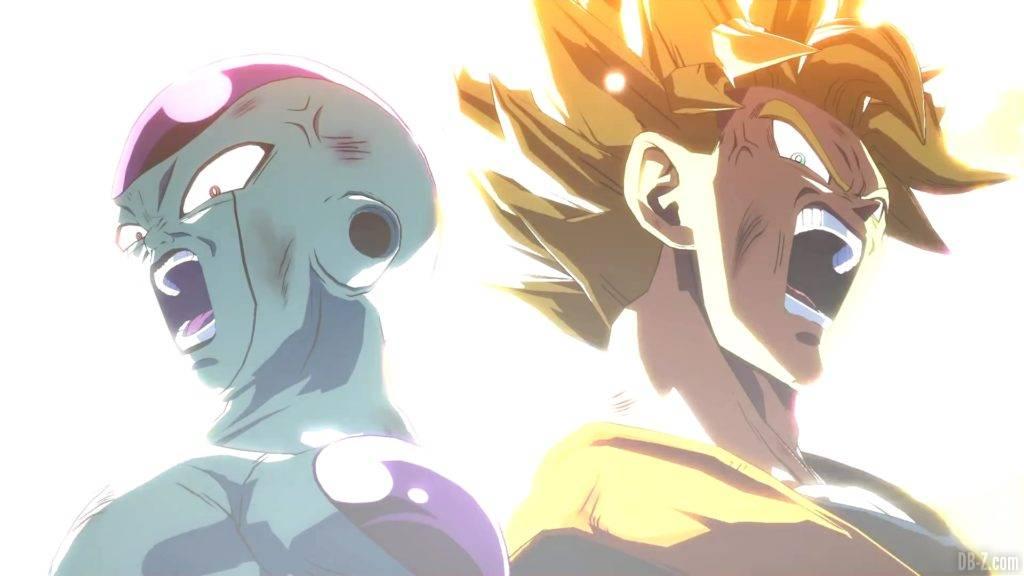 Goku Freezer dans Dragon Ball FighterZ 1