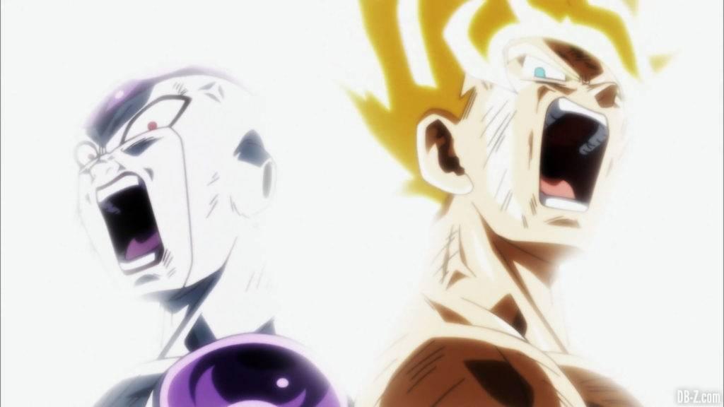 Goku Freezer dans Dragon Ball Super