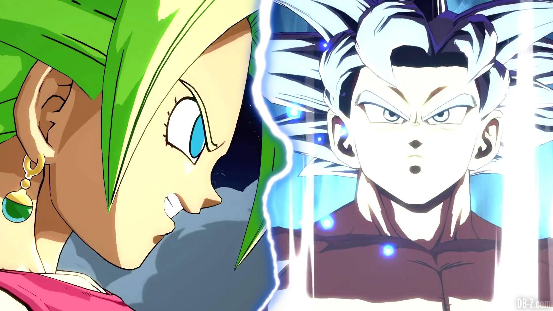 Dragon Ball Fighterz Les Images Hd De Kefla Et Goku Ultra Instinct