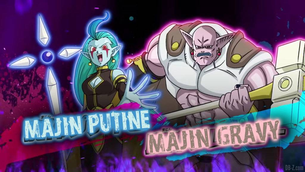 Majin Putine et Majin Gravy