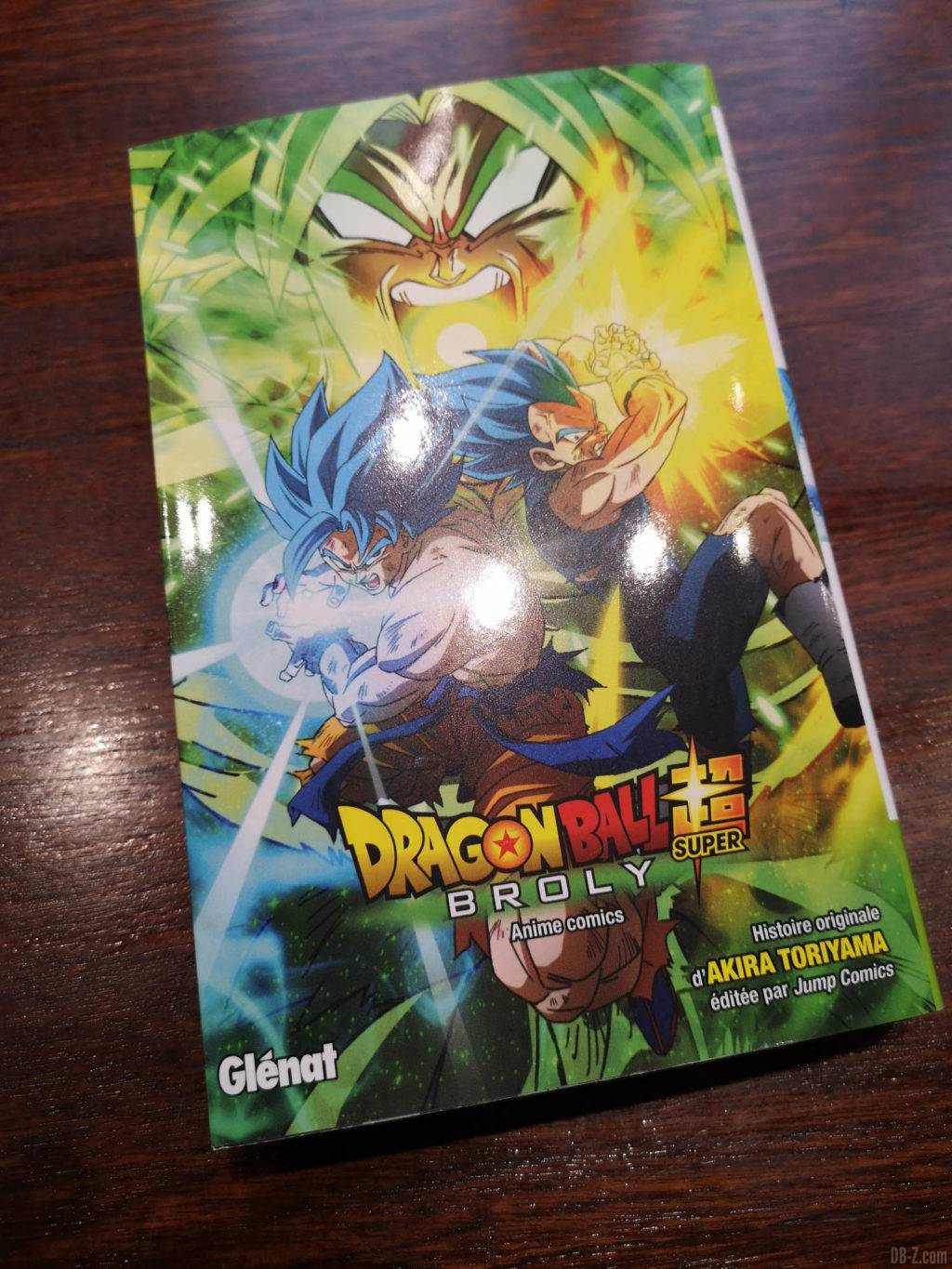 Manga Dragon Ball Super Broly VF 01