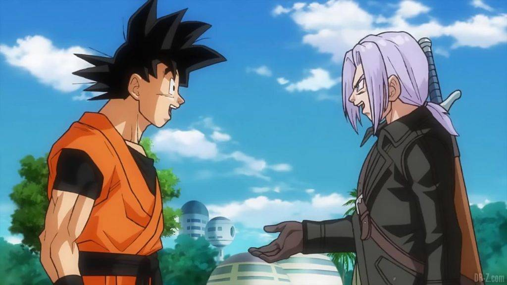 SDBH Big Bang Mission 1 06 Goku et Trunks Xeno