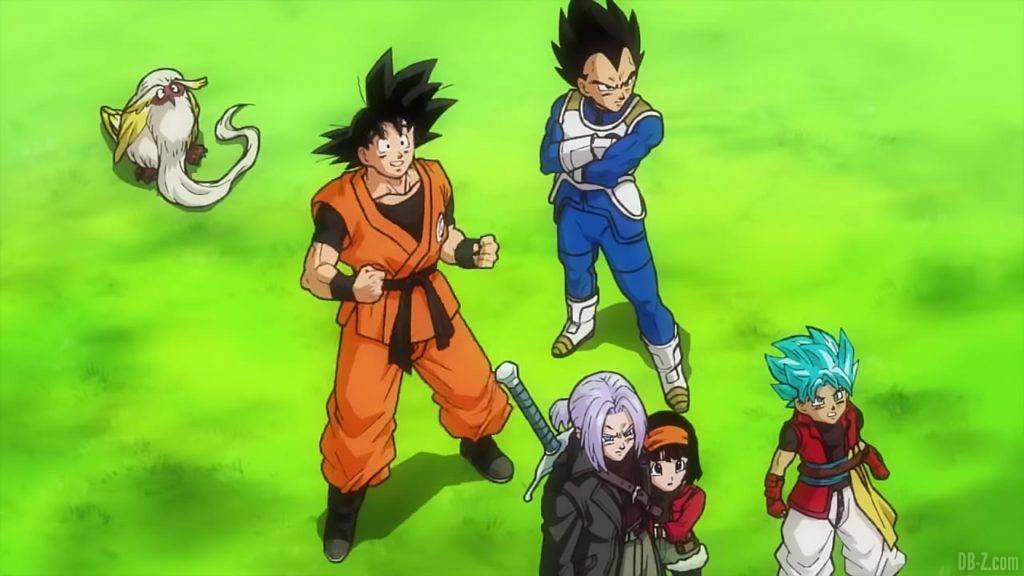 SDBH Big Bang Mission 1 09 Goku Vegeta Trunks Pan Xeno et Beat
