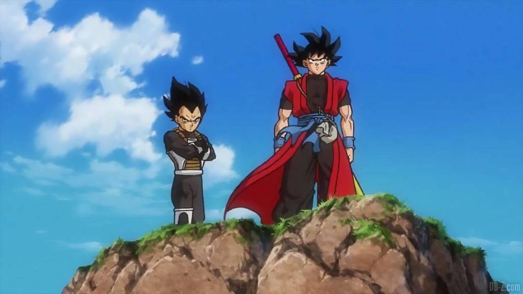 SDBH Big Bang Mission 1 10 Goku et Vegeta Xeno