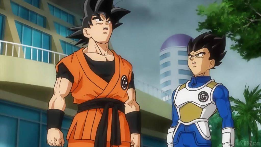 SDBH Big Bang Mission 1 11 Goku et Vegeta Xeno