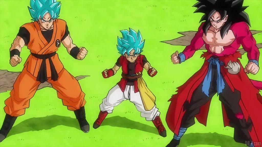 SDBH Big Bang Mission 1 22 Goku Goku Xeno Beat