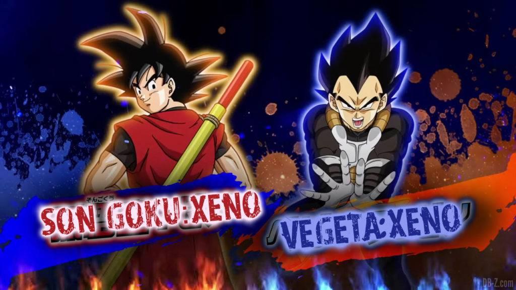 Son Goku Xeno et Vegeta Xeno