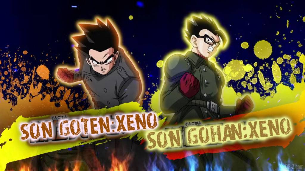 Son Goten Xeno et Son Gohan Xeno