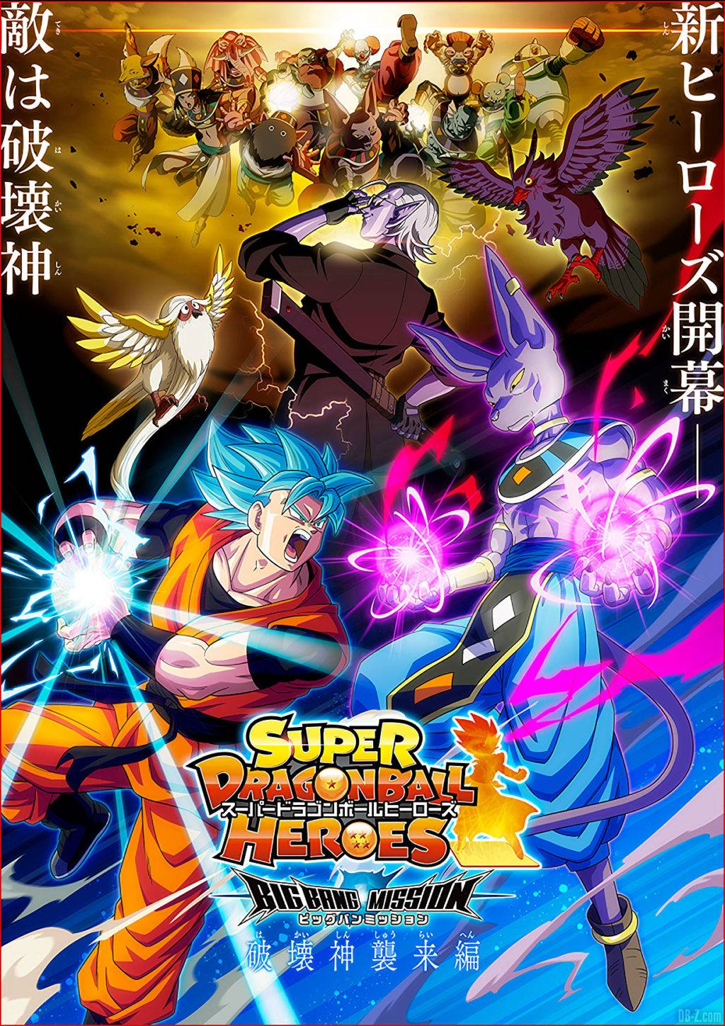 Super Dragon Ball Heroes Arc Création de lUnivers