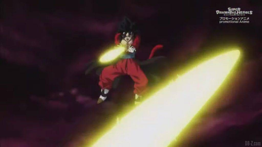 Super Dragon Ball Heroes Mechikabura vs SSJ4 Vegito SSG Trunks Special Episode「HD」0010242020 02 23 09 37 33