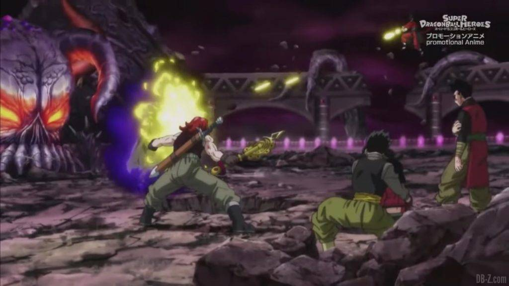 Super Dragon Ball Heroes Mechikabura vs SSJ4 Vegito SSG Trunks Special Episode「HD」0011212020 02 23 09 37 46