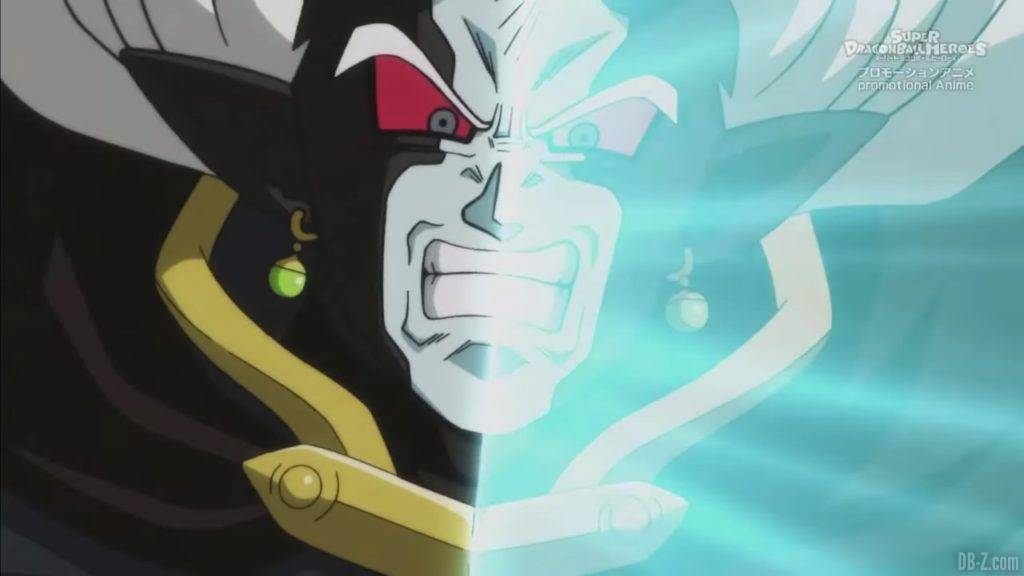 Super Dragon Ball Heroes Mechikabura vs SSJ4 Vegito SSG Trunks Special Episode「HD」0061942020 02 23 09 39 37
