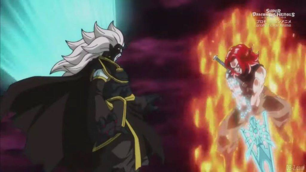 Super Dragon Ball Heroes Mechikabura vs SSJ4 Vegito SSG Trunks Special Episode「HD」0062802020 02 23 09 39 40