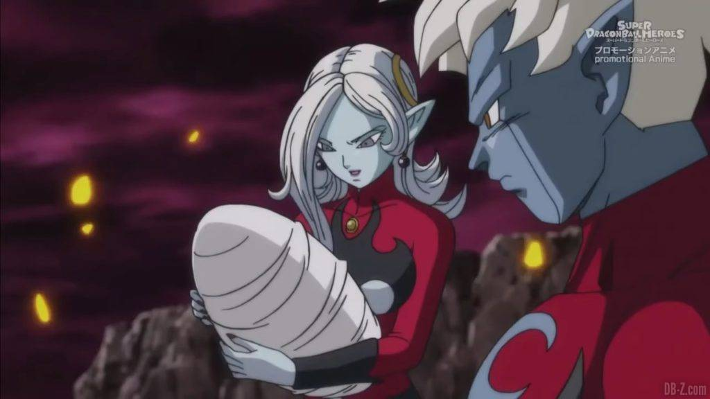 Super Dragon Ball Heroes Mechikabura vs SSJ4 Vegito SSG Trunks Special Episode「HD」0114842020 02 23 09 40 59