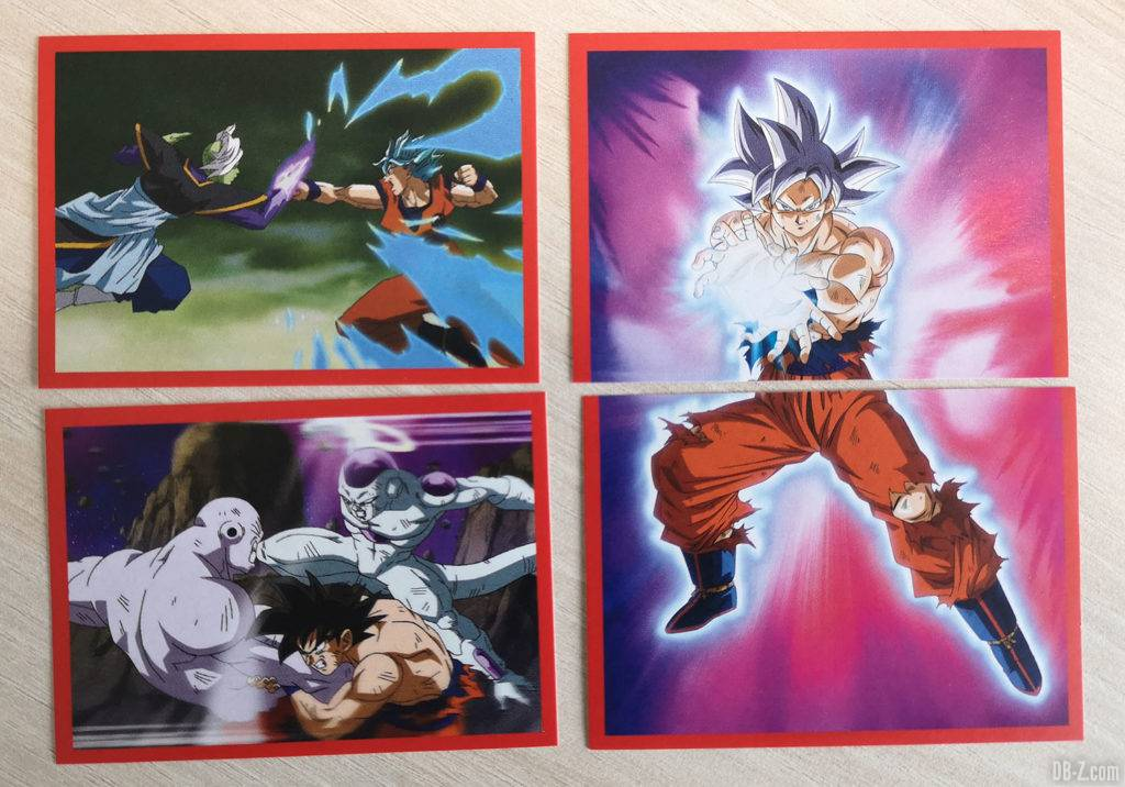 Album Panini Dragon Ball Super 2 Cartes