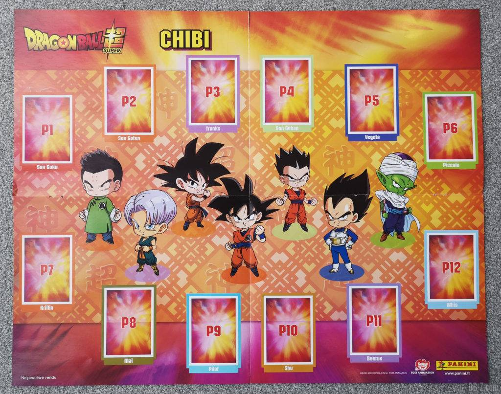 Album Panini Dragon Ball Super 2 Chibi
