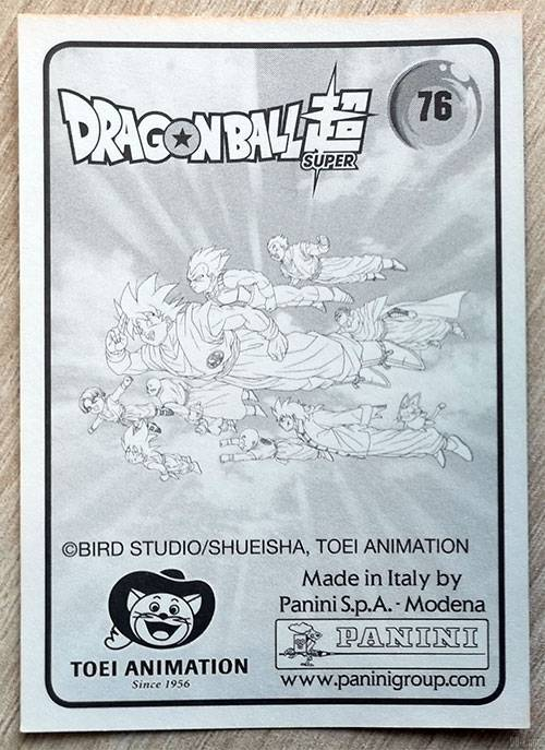 Album Panini Dragon Ball Super 2 Dos dune carte