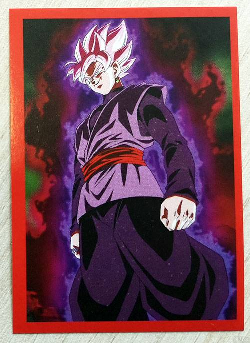 Album Panini Dragon Ball Super 2 Face dune carte