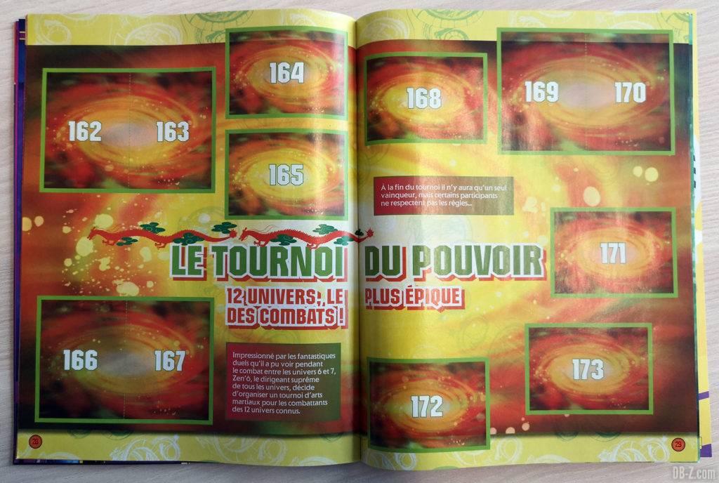 Album Panini Dragon Ball Super 2 Le Tournoi du Pouvoir
