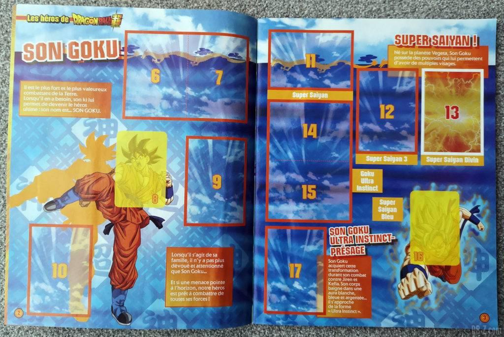 Album Panini Dragon Ball Super 2 Son Goku