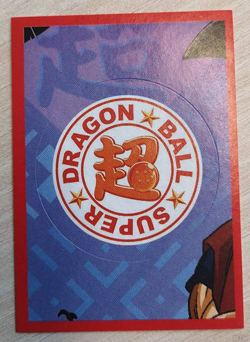 Album Panini Dragon Ball Super 2 Stickers Logo
