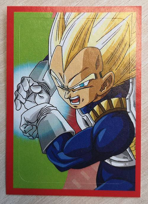 Album Panini Dragon Ball Super 2 Vegeta
