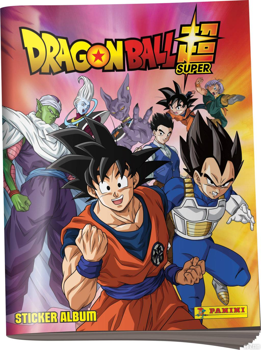 Album de stickers Panini Dragon Ball Super 2 2020