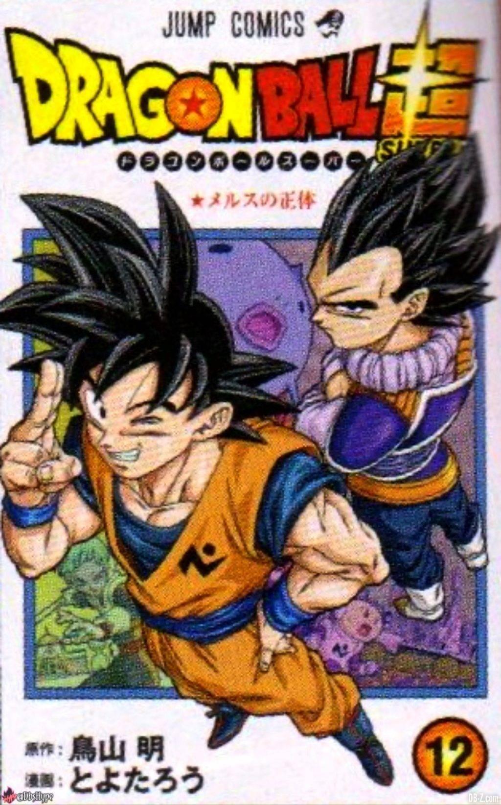 Couverture tome 12 Dragon Ball Super