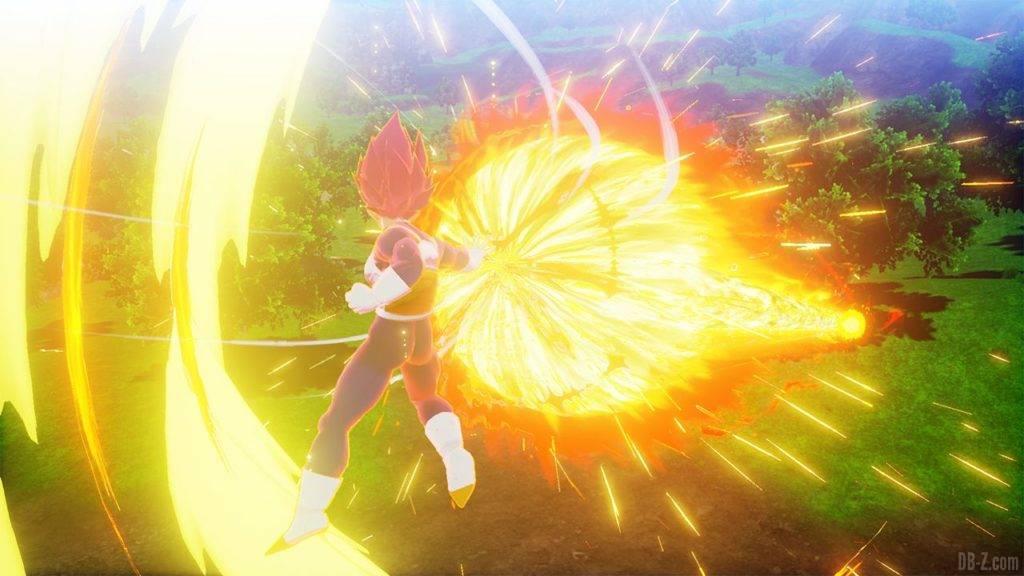Dragon Ball Z Kakarot DBZK VJUMP God Heat Flash