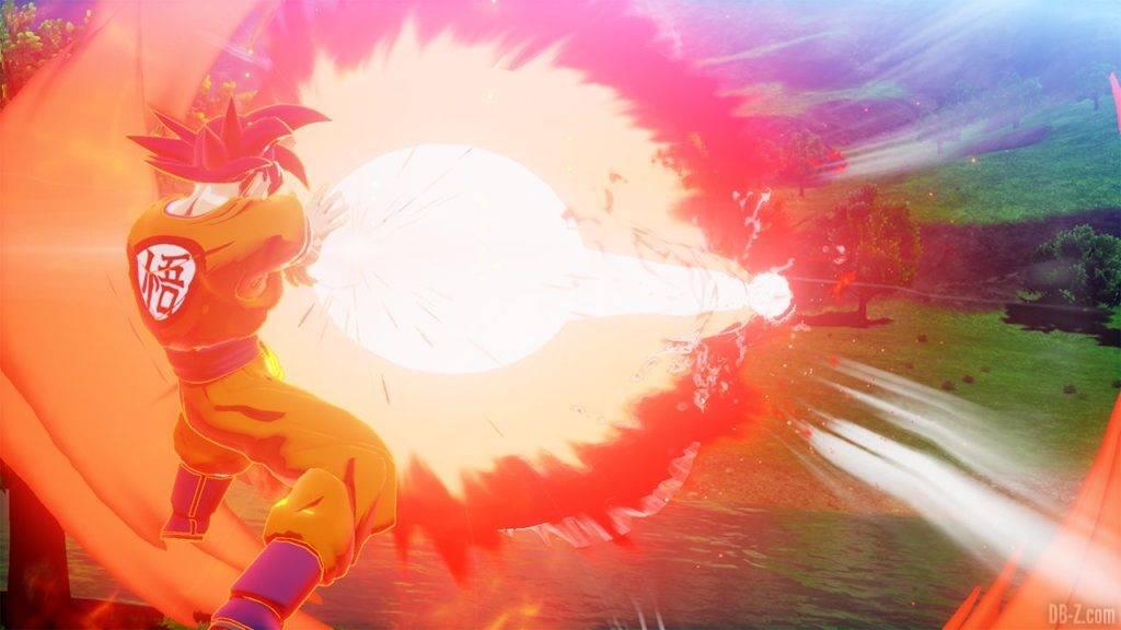 Dragon Ball Z Kakarot DBZK VJUMP God Kamehameha