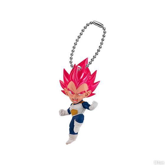 Figurine Dragon Ball UDM Burst 41 Vegeta Super Saiyan God