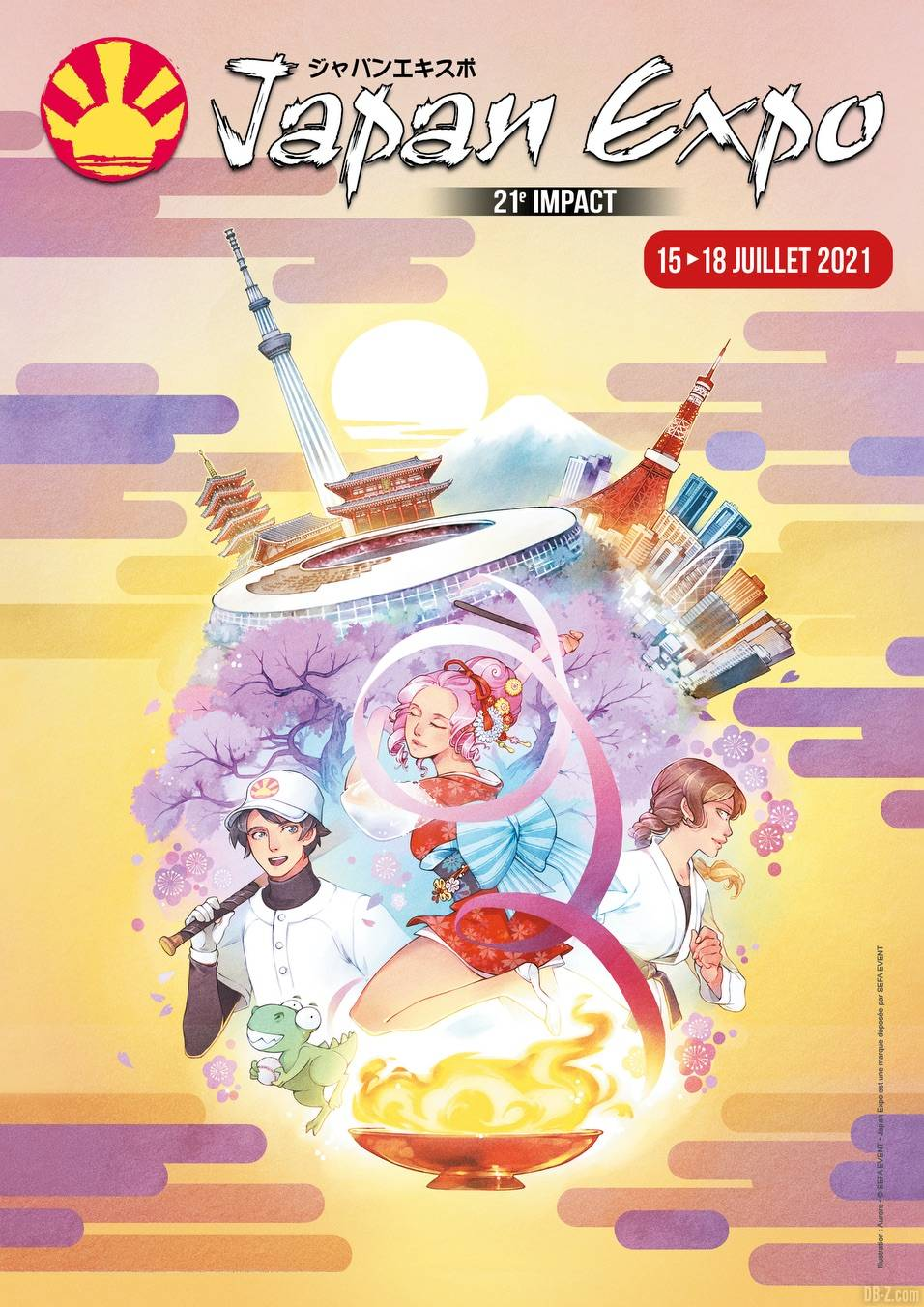 Affiche Japan Expo 2021 1