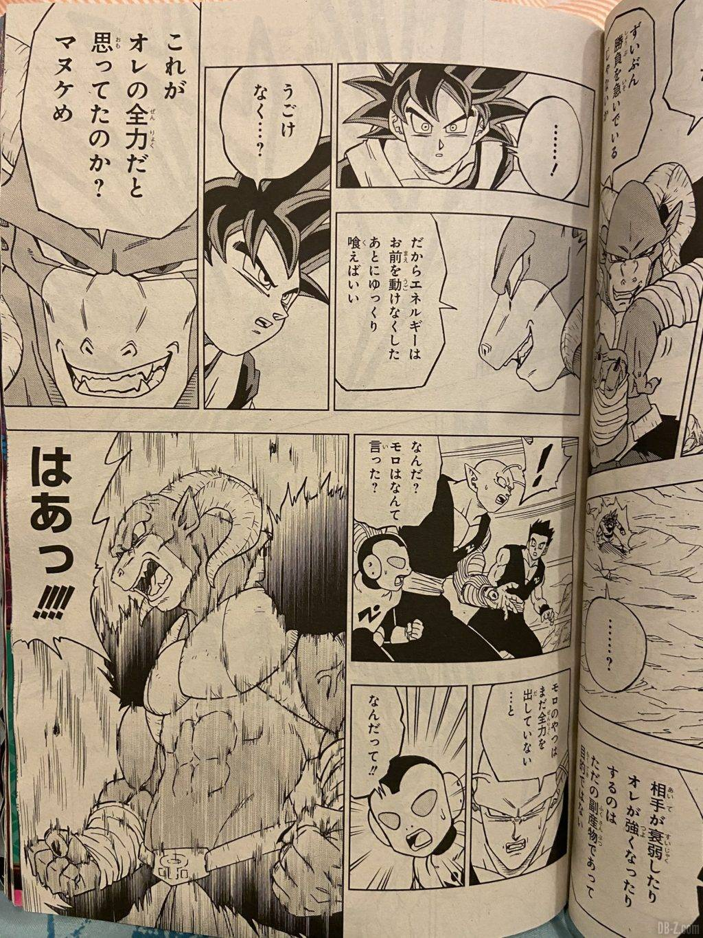 Chapitre 59 de Dragon Ball Super Page 4