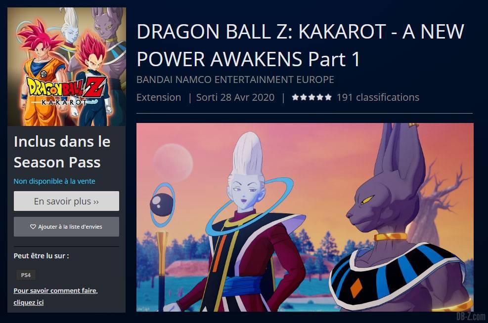 DRAGON BALL Z KAKAROT A NEW POWER AWAKENS