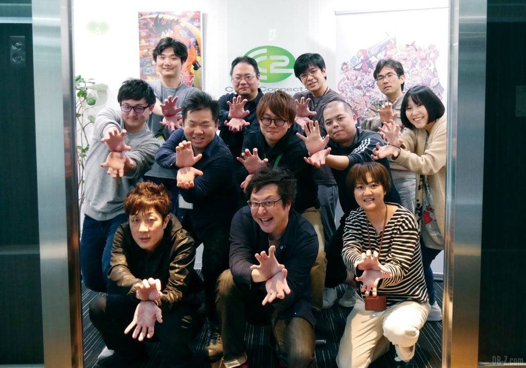 Dragon Ball Z Kakarot Equipe CyberConnect2