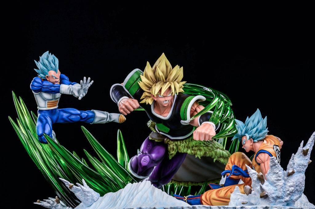 Statue Broly vs Goku Vegeta Xceed ORS image 1