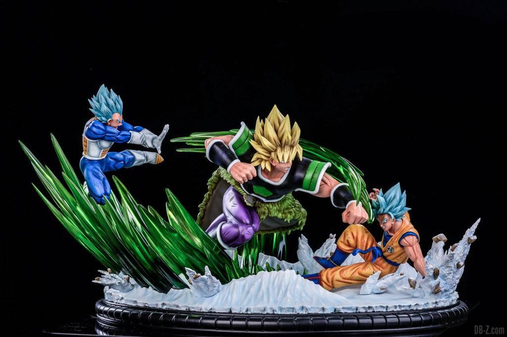 Statue Broly vs Goku Vegeta Xceed ORS image 2