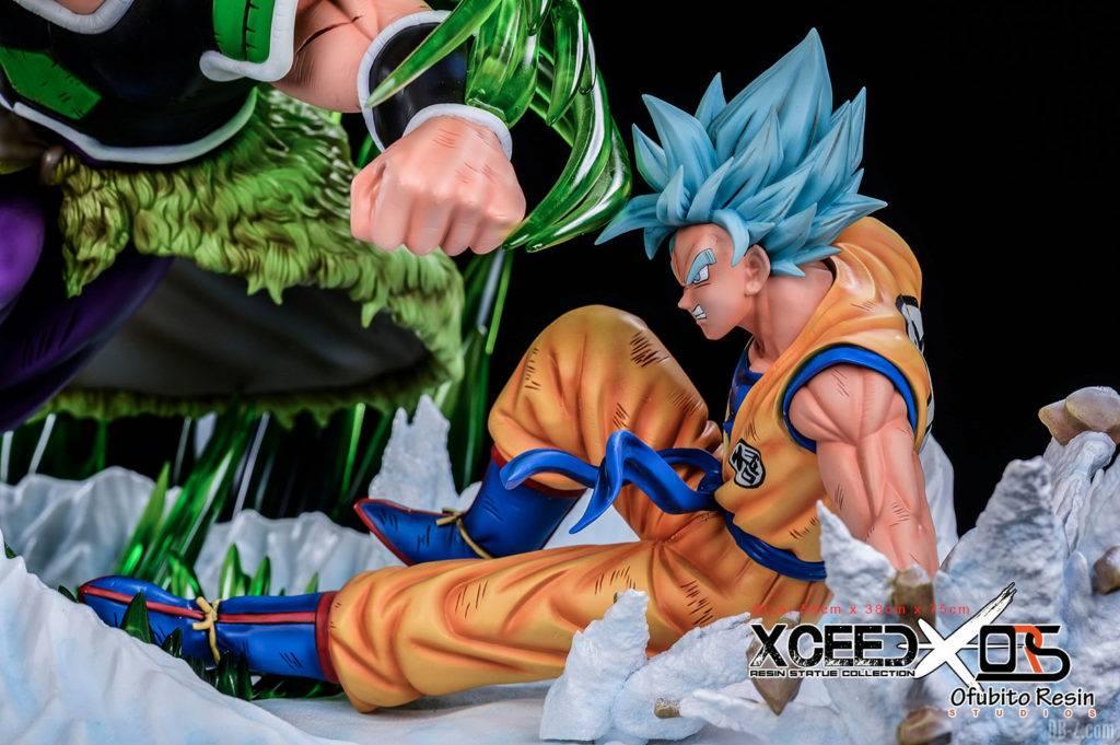 Statue Broly vs Goku Vegeta Xceed ORS image 4