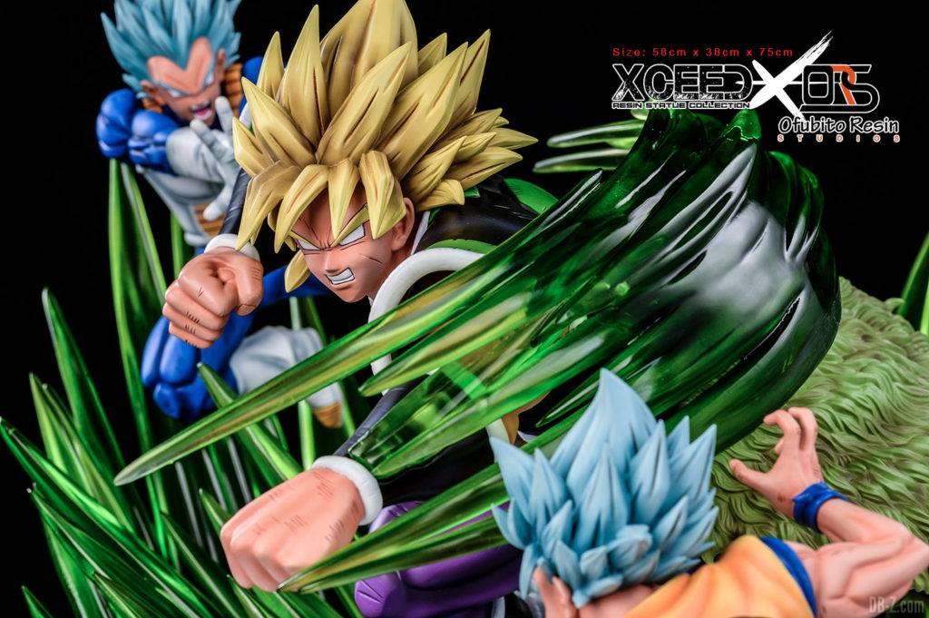 Statue Broly vs Goku Vegeta Xceed ORS image 7