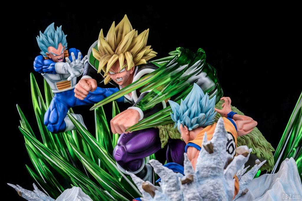 Statue Broly vs Goku Vegeta Xceed ORS image 8