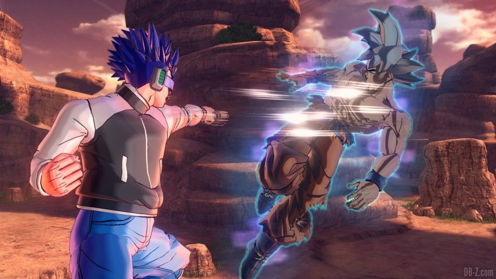 Dragon Ball Xenoverse 2 Goku Ultra Instinct 7