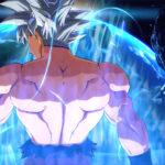 Goku Ultra Instinct Dragon Ball FighterZ Win Pose
